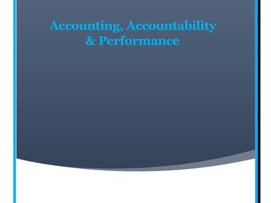 Accounting, Accountability & Performance