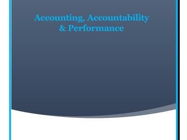 Accounting, Accountability & Performance