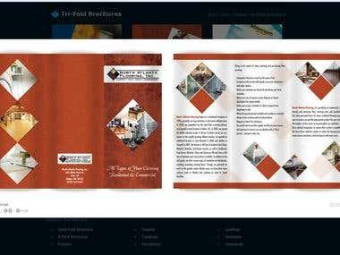 Tri-fold Brochure samples(1)