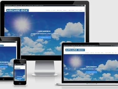 Sito web Aircarebox