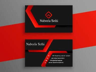 Business cards Graphics design