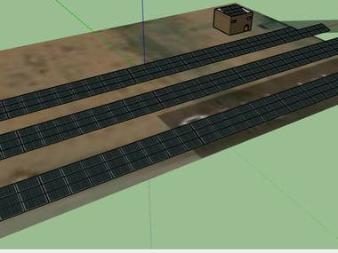 20Kw OFF-Grid Solar Energy design using Pvsyst and Sketchup