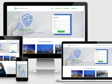 Pro Guard Protect Website