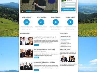 Premium WordPress Theme - LeadCatcher Lead-Gen Theme