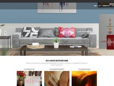 Wordpress - SoundwaveArt