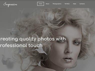 Photo website