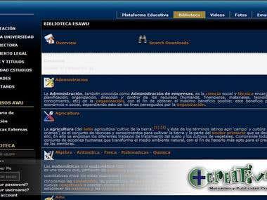 Pagina para Universidad Virtual