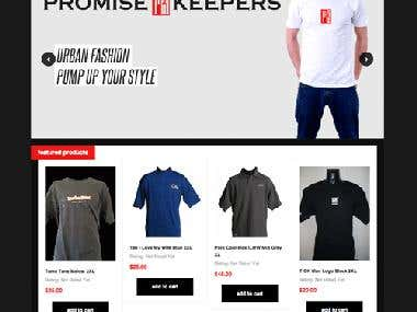 Promise Keepers e commerce
