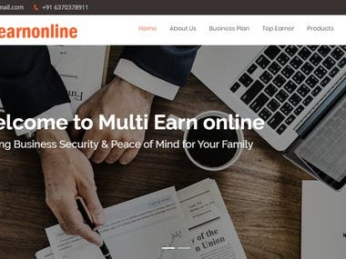 Multiearnonline MLM Project
