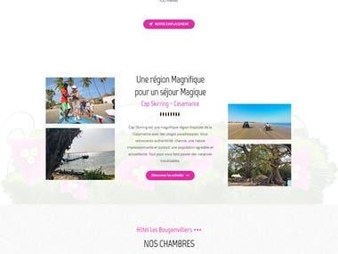 Hôtel / Restaurant Website