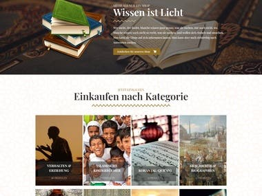 Islamic Book Selling Website
