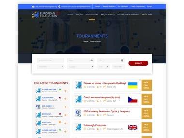 Website Design Desktop and Mobile view