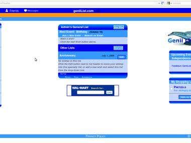 Genii List Website