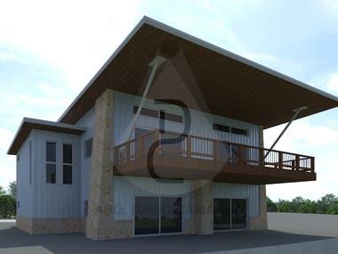 INDUSTRIAL BUILDINGS - 3D Modeling & CAD
