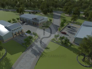 ARCHITECTURAL AERIAL VIEWS - 3D Modeling