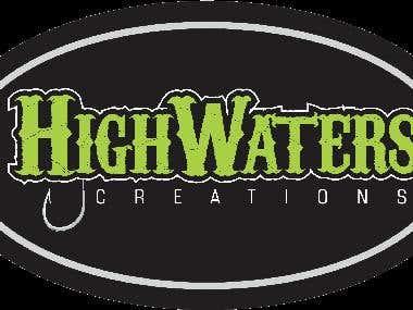 Highwaters Creations Logo Design