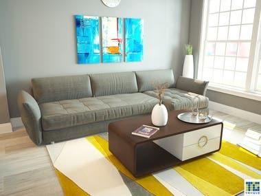 Contemporary/Minimalistic Interiors