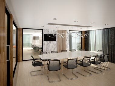 4. Interior Commercial Project