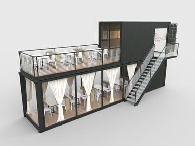 CONTAINER / MOBILE / HOUSE