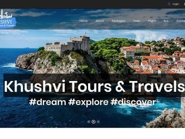 www.khushvitravels.com