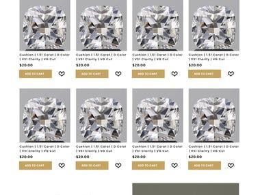 Diamond -E-Commerce Shopify
