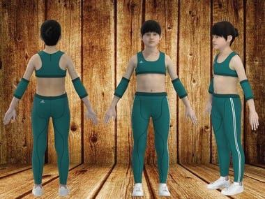 3D Kids Sports wear