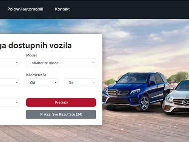 Car Auction Web Application