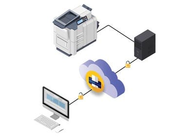 SaaS Printer Management Solution