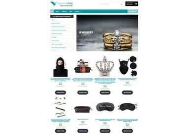 Espectrashop.com - Web Design in WordPress