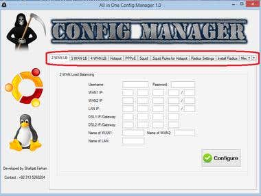 All in One Config Manager