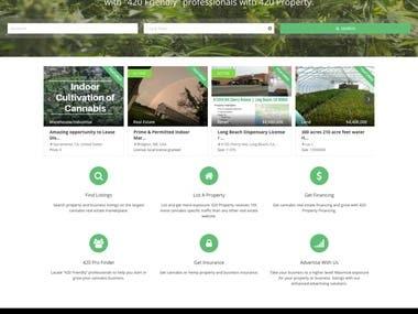 Listings Website