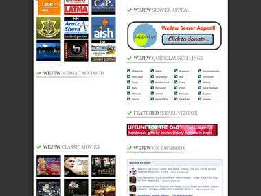 WeJew.com - #1 Niche Video Website in Sector