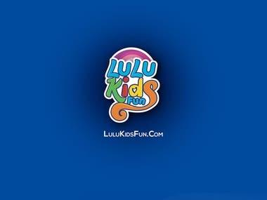 lulu kids fun logo design