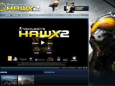 Ubisoft: Hawx Game2Web