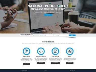 On Demand Checks - Police Verification Portal