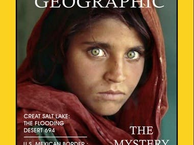 poster for national geography
