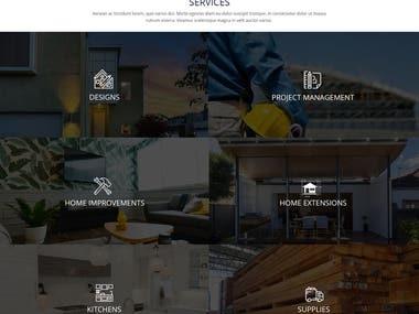 Contraction web design and development