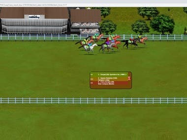 Web based *Horse racing* online game.