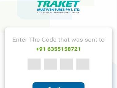 E Tracket mobile app