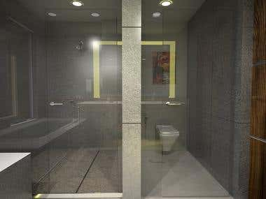 Toilet design for master bedroom