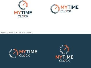 My Time Clock App/Website Logo
