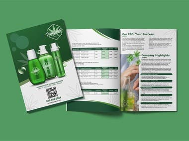 Brochure or Company Profile Design