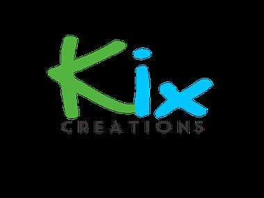Kix Creations Simple Logo