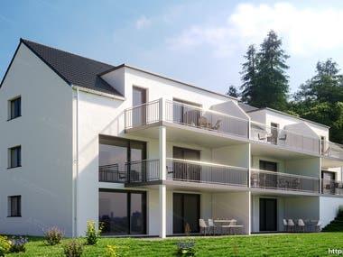 Exterior Design-Realistic Rendering