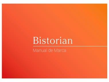 Desarrollo de Branding - Bistorian