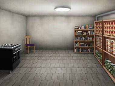 Interior digital painting
