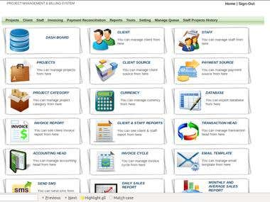 PROJECT MANAGEMENT & BILLING SYSTEM