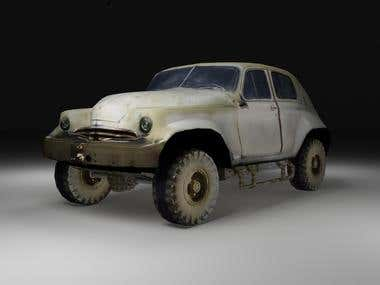 Military offroad vehicle