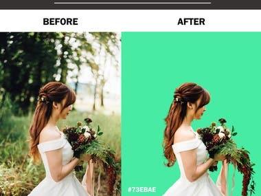 Image Background Change (Clipping Mask)