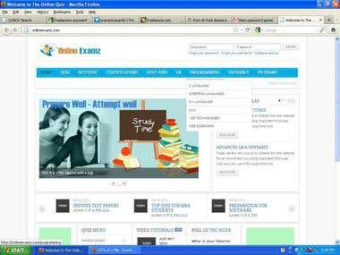 Online Exam e Learning Portal